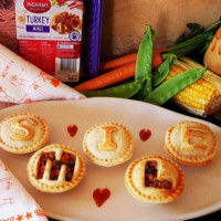 Play Date Turkey & Veg Mini Jaffles,